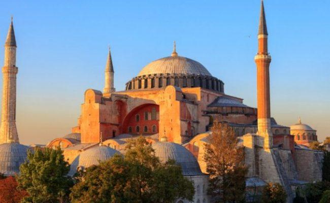The Monumental Hagia Sophia Meeting Point Of Civilizations