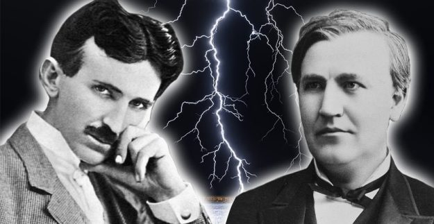 Nikola Tesla and Thomas Edison
