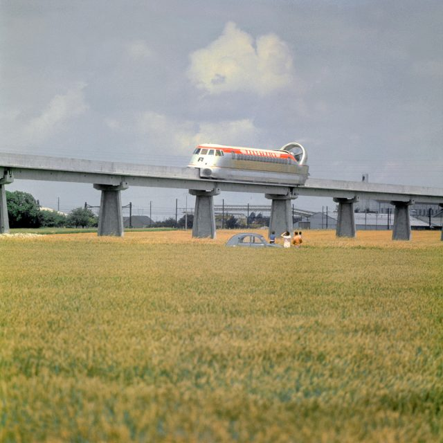 The Concept Aerotrain That Never Was – Now Abandoned