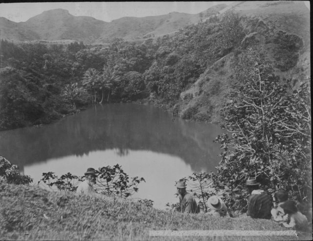 Green Lake, photographed in the 1890s