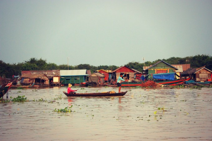 Floating Villages in Siem Reap, Cambodia