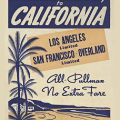 Vintage Posters For Kitchen Vacuum High Quality Original Rare And Collectable Los Angles Limited San Fran Overland