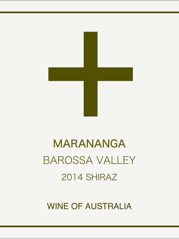 Marananga Barossa Valley Shiraz 2014