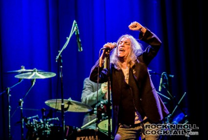 Patti Smith at The Fillmore Photographed by Jason Miller-1-2