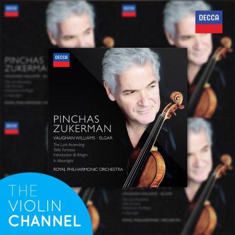 Pinchas Zukerman Vaughan Williams Elgar CD Decca