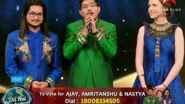 Ajay, Amritanshu, Nastya