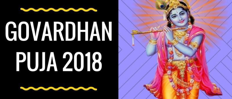 Govardhan Puja 2018
