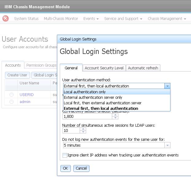 IBM Flex System CMM and Active Directory Integration