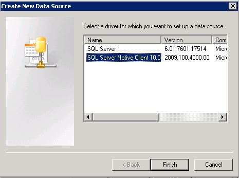 SQL NativeClient