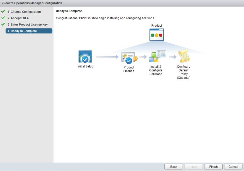 vRealize Operations Manager - Windows Version - Installation