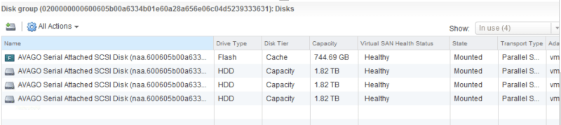 HDD failed in vSAN cluster (Softlayer) - how to replace it