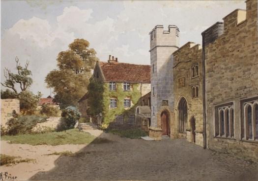 Taunton Castle by Harry Frier