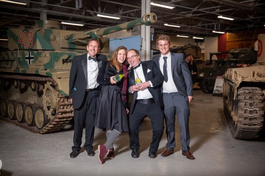 moors-valley-country-park-rangers-celebrate-two-gold-awards-l-r-evan-powell-sara-tschersich-doug-king-and-ben-symes