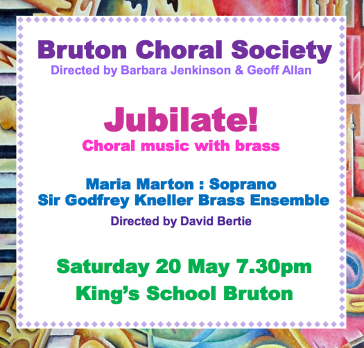Bruton Choral SOciety Concert Kings