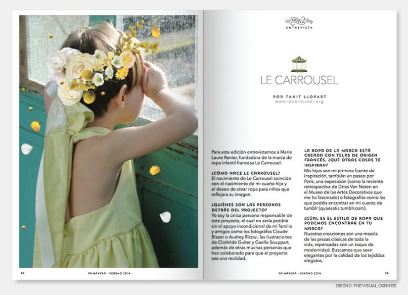 Magazine design in Barcelona by The Visual Corner studio