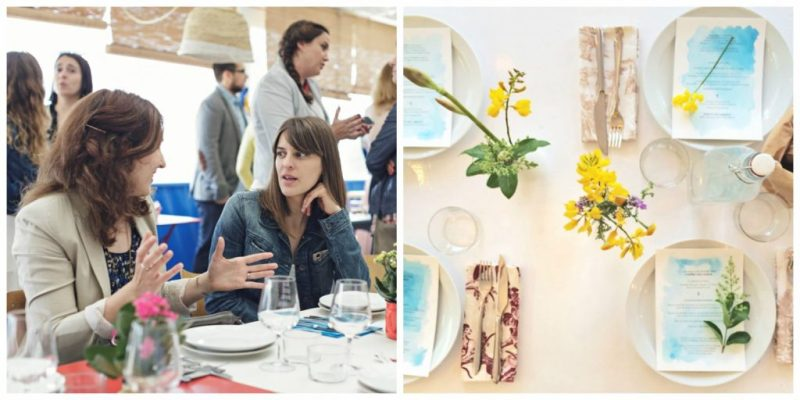 The Visual Corner con Kinfolk y Tendencias de Bodas en Barcelona