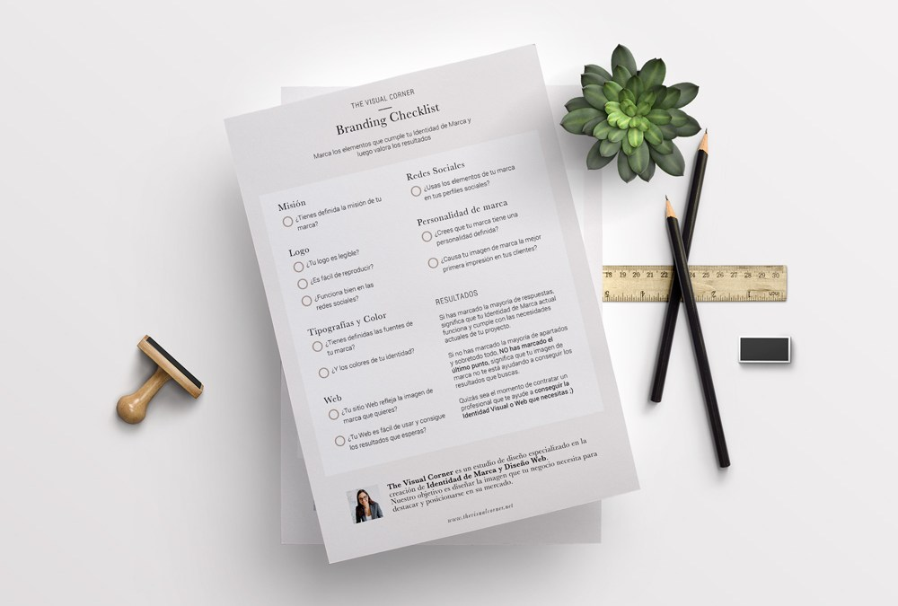Consigue tu Branding Checklist gratis