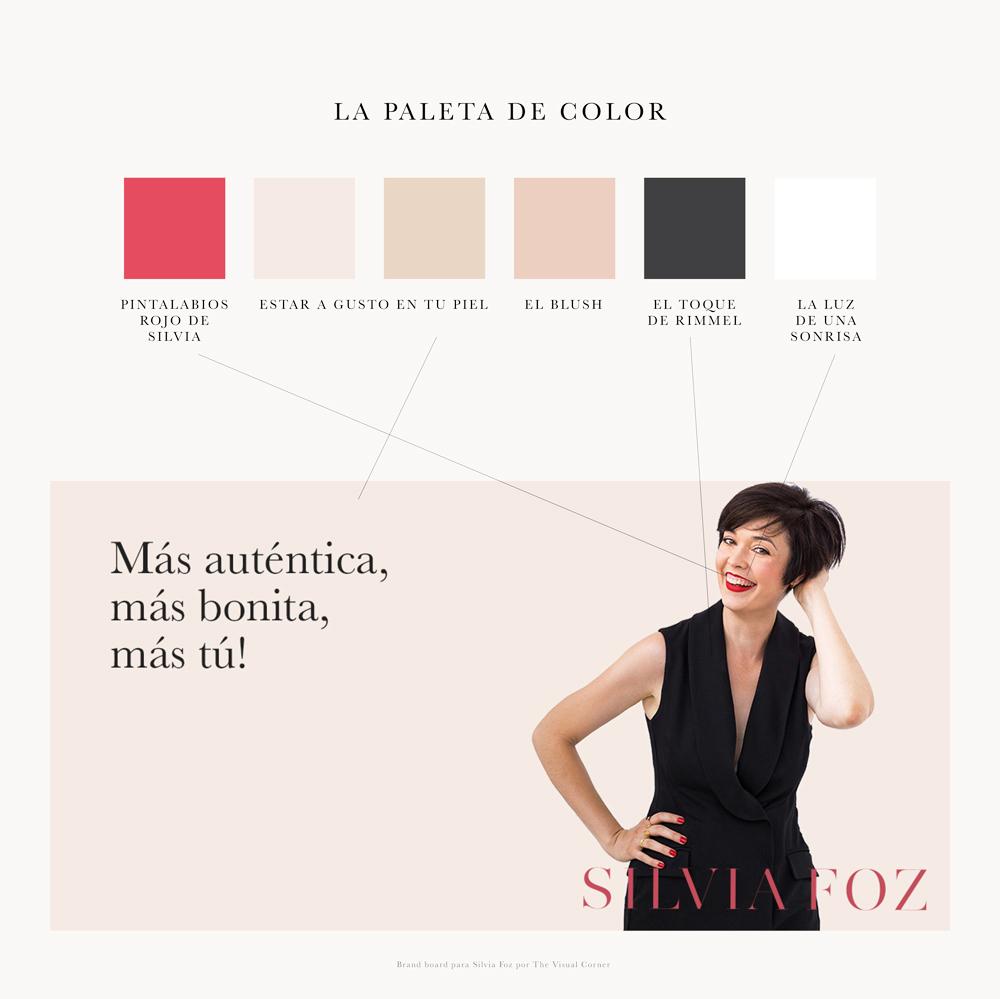 Branding personal para Silvia Foz por The Visual Corner