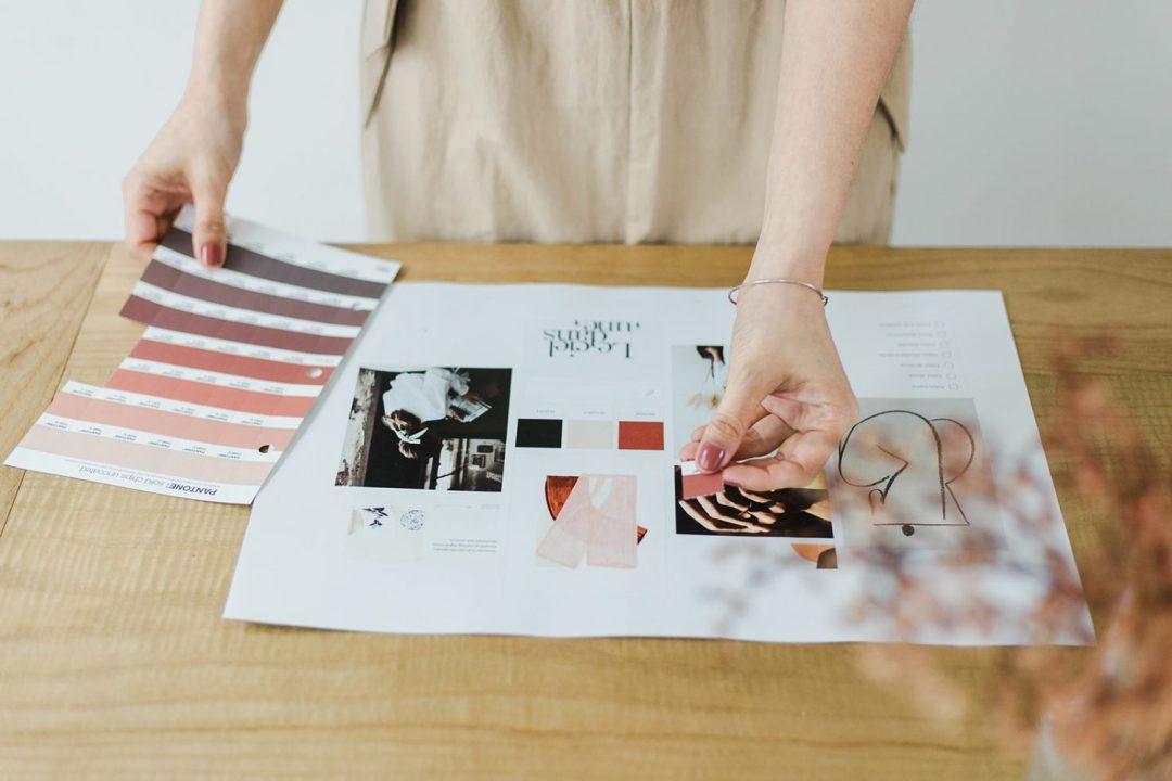 7 pasos para diseñar tu marca por The Visual Corner branding estudio
