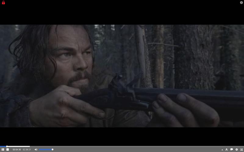 Contoh gambar Torrent filem 'The Revenant'