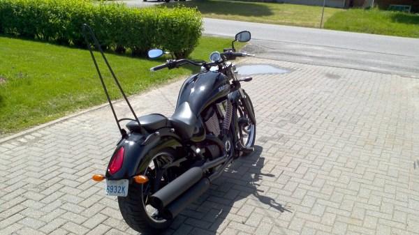 Diy Custom Sissy Bar Victory Motorcycles Motorcycle