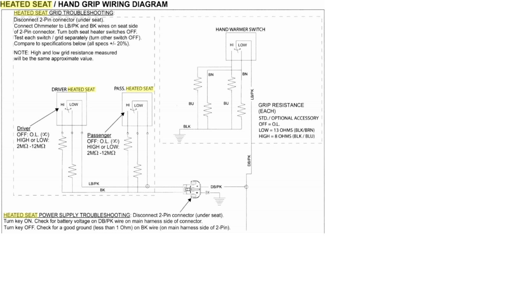 2014 Ski Doo Headlight Wiring Diagram Power For Oem Heated Grips Victory Motorcycles