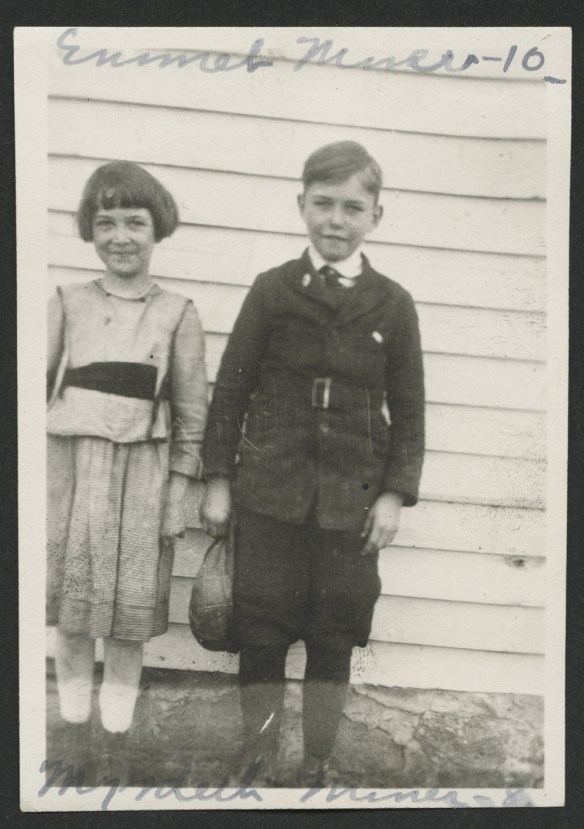 Myrdith and Emmet Miner photo from State Historical Society of North Dakota