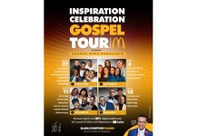 """McDonald's USA, through its Black & Positively Golden movement, announces the virtual return of its 14th annual Inspiration Celebration Gospel Tour. Benefitting Ronald McDonald House Charities (RMHC), the four-part concert series, themed """"Gospel City Playlists,"""" will begin September 27 and run weekly (every Sunday) through October 18 on BET.com and BET Network's YouTube channel at 8 p.m. EST / 7 p.m. CST."""