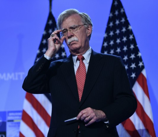 """President Donald Trump said Tuesday that he has asked national security adviser John Bolton to resign, noting that he """"strongly disagreed with many of his suggestions as did others in the administration."""""""