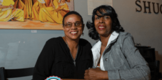 Sandra Austin and Kathy Gibson, owners of Shugga Hi Bakery & Cafe (Courtesy Photo)