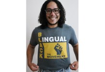 Blacklingual creator Ren Jones (Courtesy Photo)