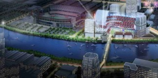 Rendering of Nashville Stars' Major League Baseball Stadium. (Courtesy of Music City Baseball)