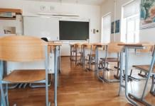 Empty classroom during coronavirus lock down. (Photo by: Marko Klaric | twenty20.com)