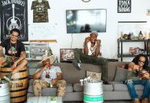 Nappy Roots, from left: Skinny DeVille, B. Stille, Fish Scales and Ron Clutch. (Courtesy of Nappy Roots)