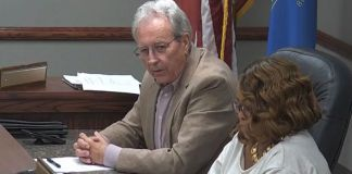 """Tarrant, Ala. City councilman John """"Tommy"""" Bryant created a media firestorm by referring to a black fellow council member as a """"house n*****"""" during an open town meeting on July 19, 2021 (@cityoftarrant /Facebook Live screen capture)"""