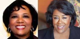 (l-r) Dr. Stephanie Myers, Jan Perry