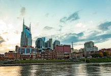 Nashville, TN skyline (Photo by: Band Box Creative | twenty20.com)