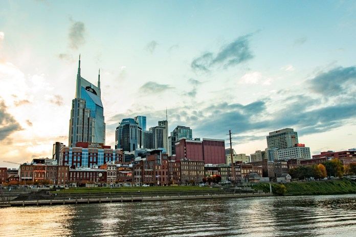 Nashville, TN skyline (Photo by: Band Box Creative | twenty20.com)