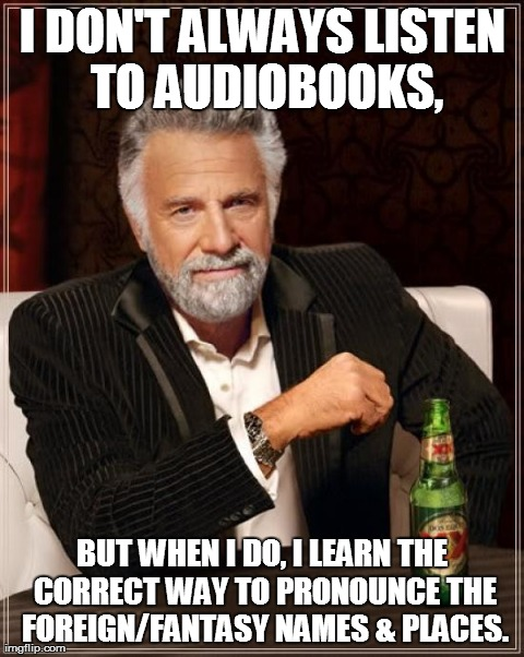 Image result for audiobook meme