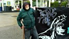 Harold Lavender with Rising Tide, fighting for an anti-capitalist solution to climate change
