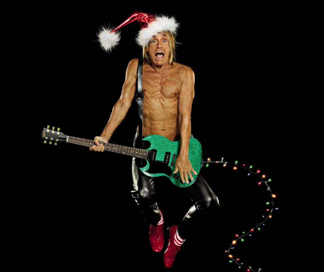 Iggy Pop To Present 6 Music Show on Xmas Day