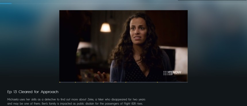 I am watching Manifest on 9Now in Australia from abroad