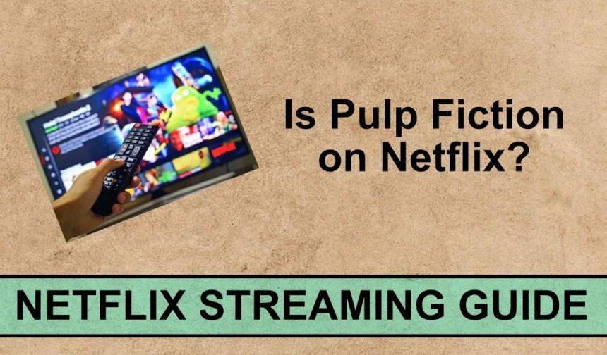 pulp fiction netflix