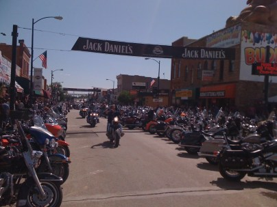 4th of July and Sturgis 09 202