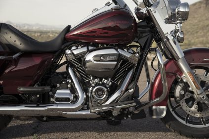 MY17 Web Photography. Road King Details.