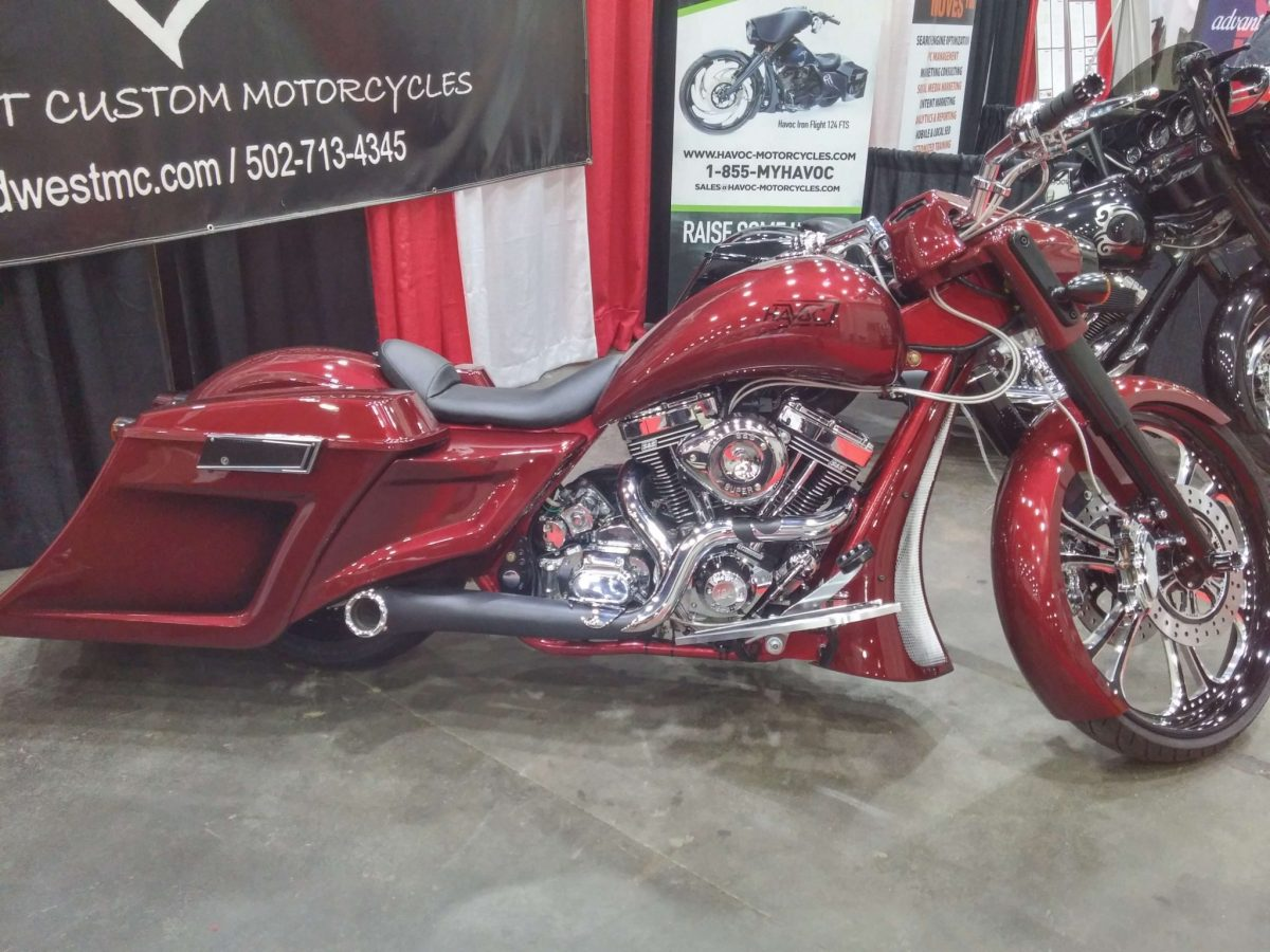New HAVOC 124SS Model Launched at Easyriders Expo. Introductory Price $45,000