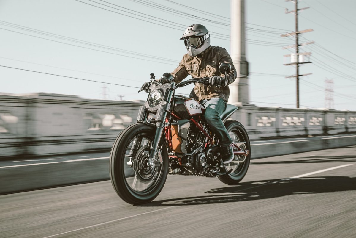 "Indian Motorcycle Honors Flat Track ""Wrecking Crew"" at EICMA with Scout FTR1200 Custom Unveil"