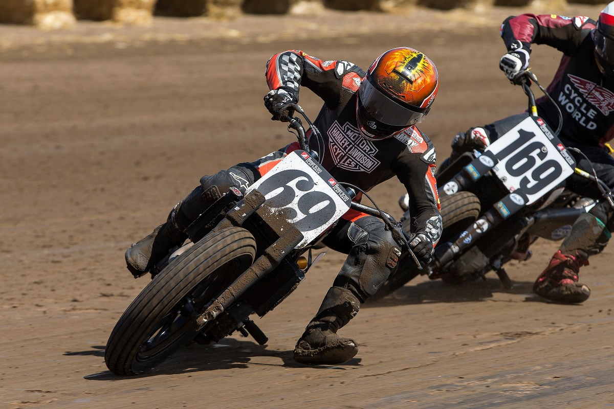 HARLEY-DAVIDSON FACTORY FLAT TRACK TEAM READY FOR DIRT-AND-PAVEMENT DAYTONA TT COURSE