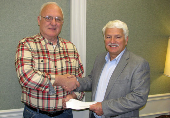 VW Federal donates to Park District 3-2015