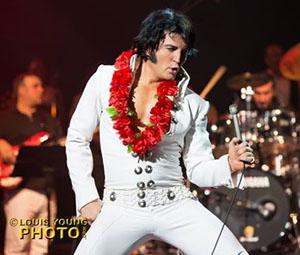 Elvis impersonator Ben Portsmouth